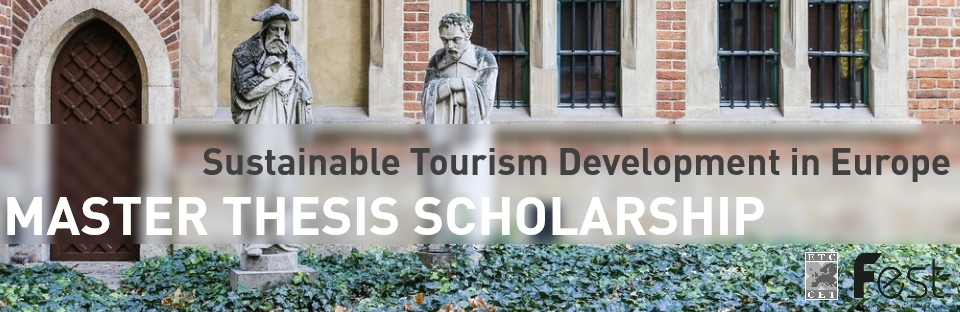 ETC Is Launching A Scholarship for A Master Thesis in Sustainable Tourism Development In Europe