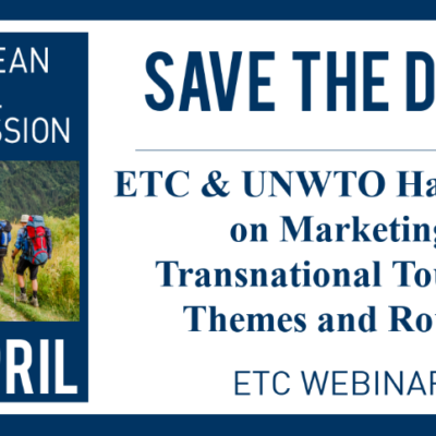 ETC Webinar: ETC & UNWTO Handbook On Marketing Transnational Tourism Themes And Routes