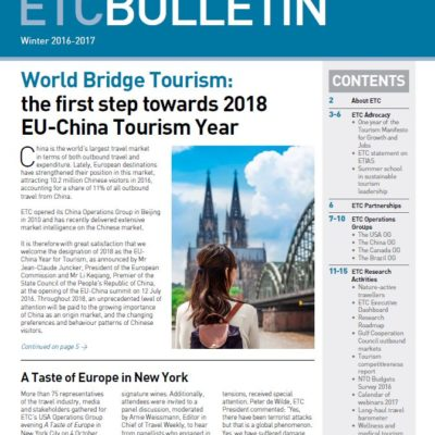 ETC's Newest Bulletin Winter 2016-2017