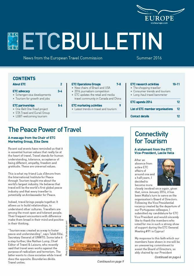 ETC's Latest Bulletin
