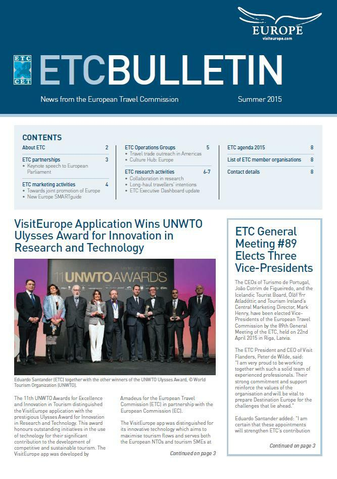 ETC's Bulletin Summer 2015