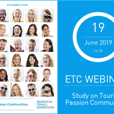 ETC WEBINAR – Study on Tourism Passion Communities