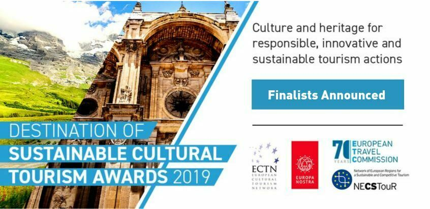 Finalists of the Destination of Sustainable Cultural Tourism Awards 2019 announced