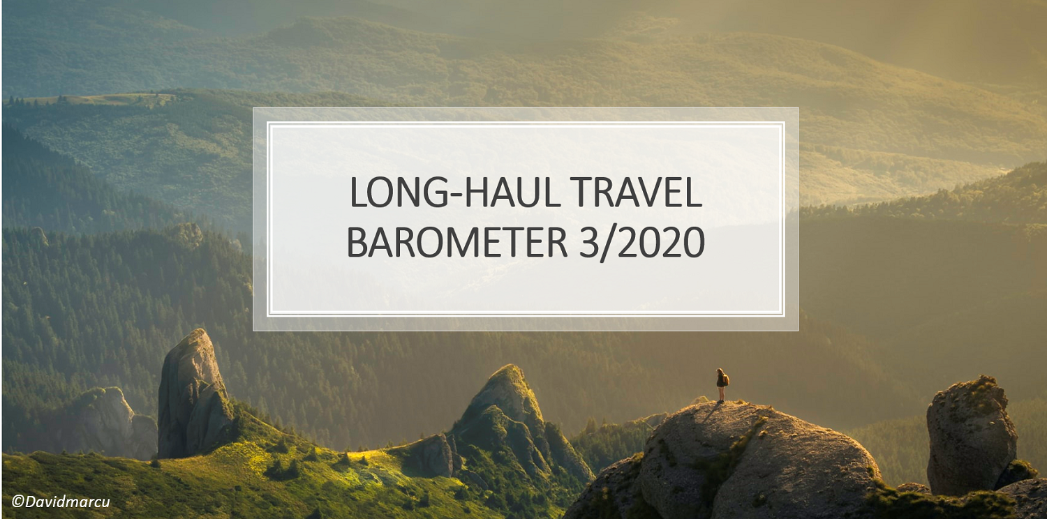 Sentiment for long haul travel slowly picks up in major tourism markets, but the confidence for trips to Europe stays low