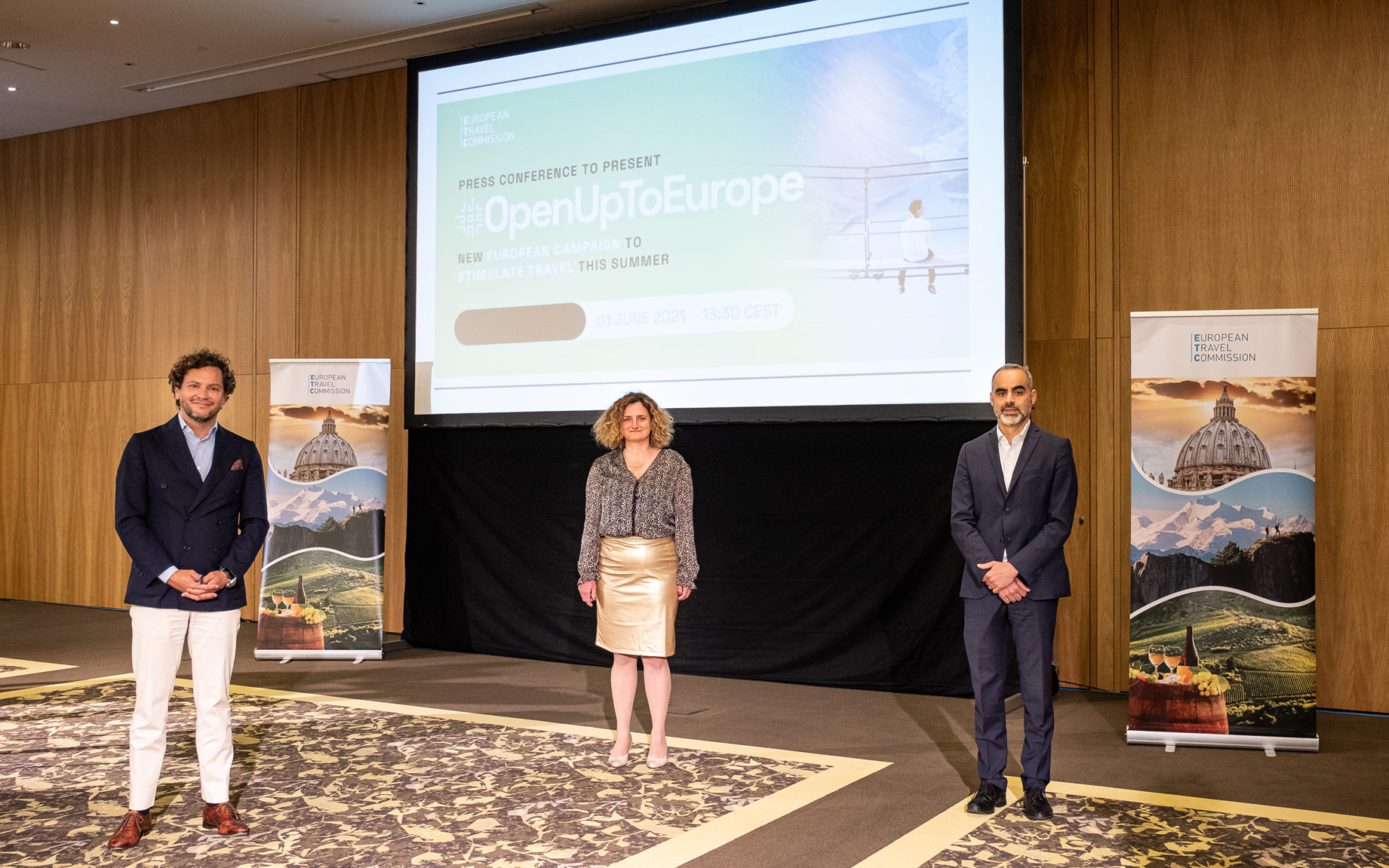 Tourism sector invites Europeans to open up to travel again
